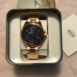 Men's Rose Gold Watch NWT